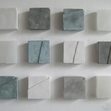 Michaela Peterson: måleri, skulptur och textverk