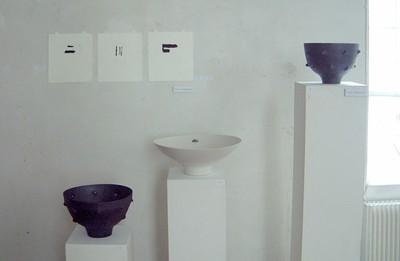 Lina Johansson, grafik och Yrjö Häkkinen, keramik