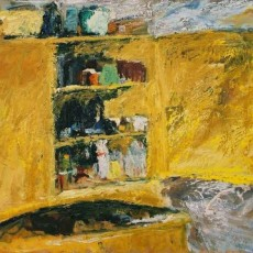Bengt Rindner, måleri och teckningar