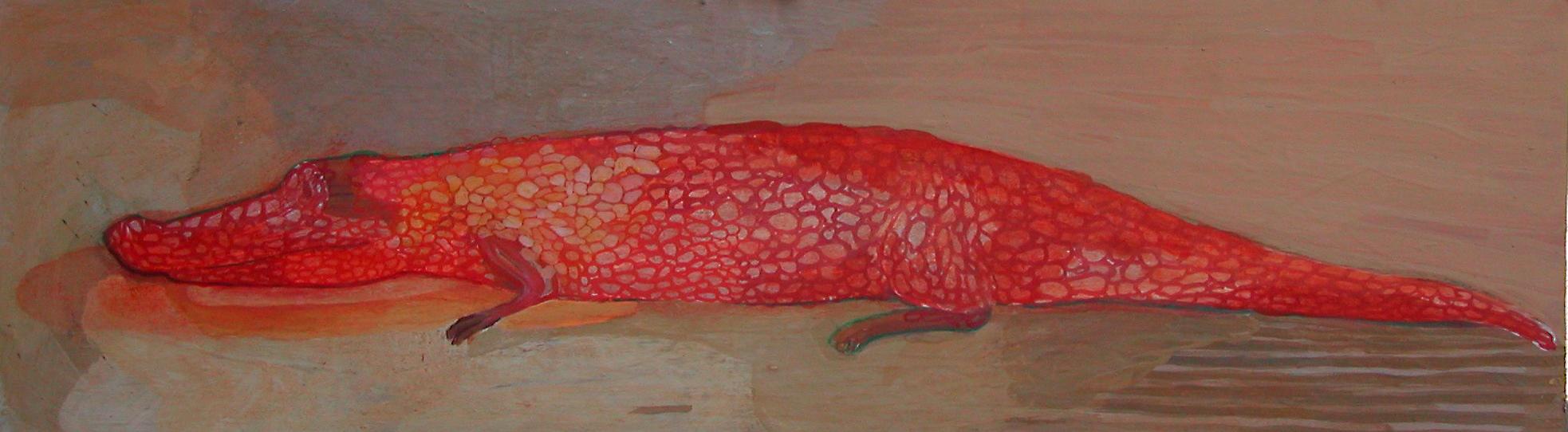Eva Dahlin, Röd krokodil