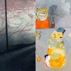 Erja Tienvieri, grafik & Elisabeth Gothe, målningar